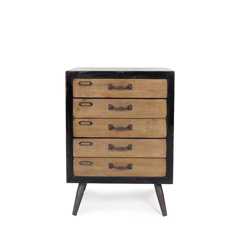 commode vintage 3 tiroirs sol m par. Black Bedroom Furniture Sets. Home Design Ideas