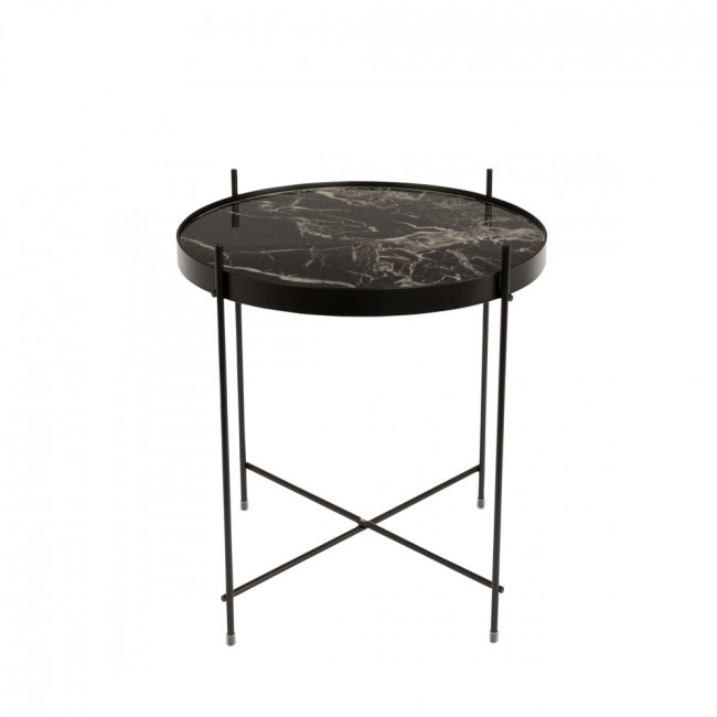 table basse design ronde cupid s marble zuiver. Black Bedroom Furniture Sets. Home Design Ideas