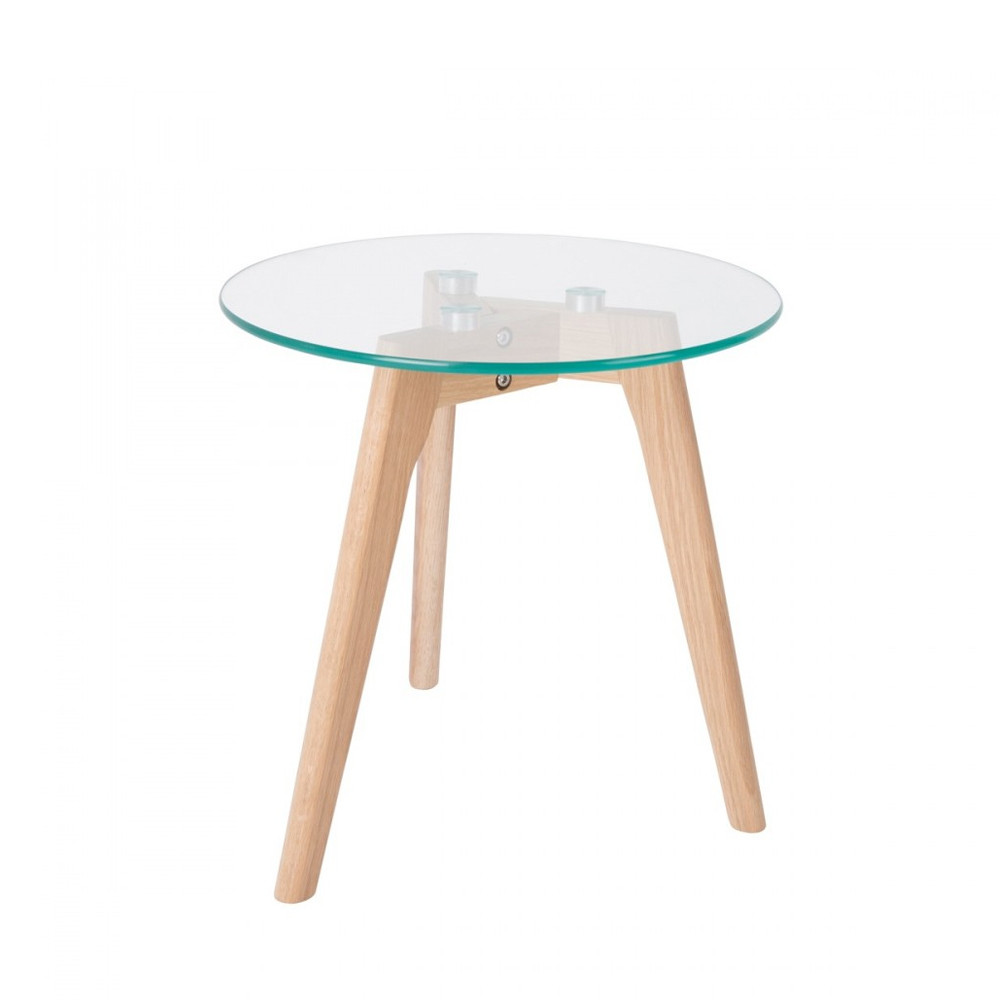 Table basse chene et verre d coration de maison - Table basse chene verre ...