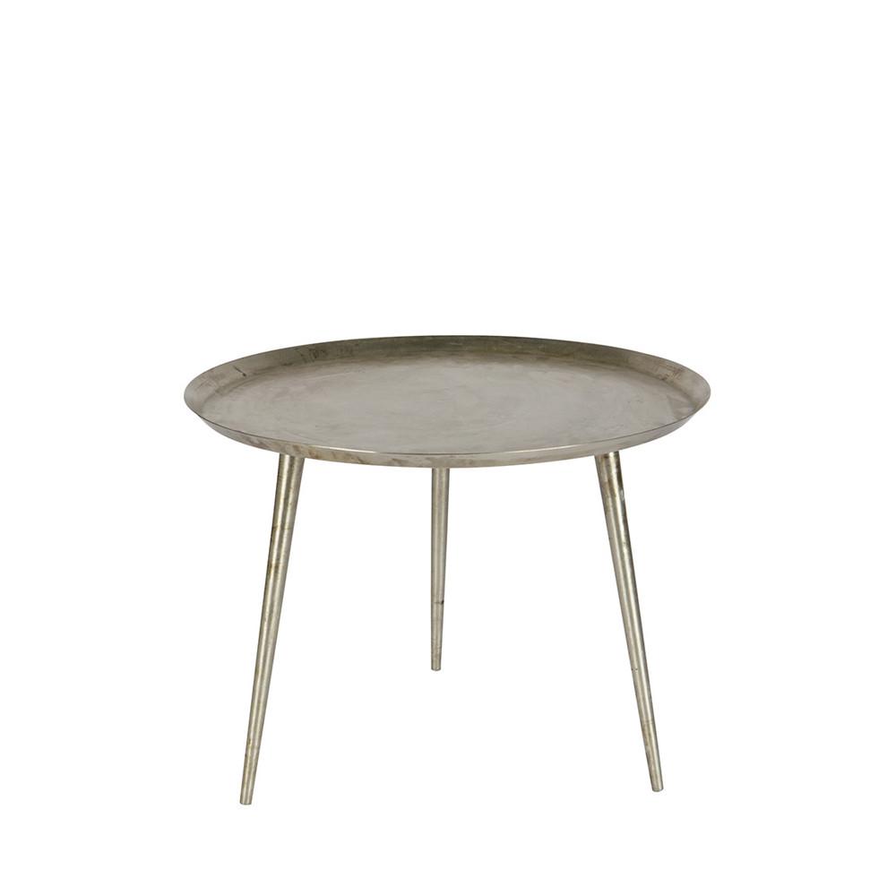 table basse vintage m tal vieilli s delight. Black Bedroom Furniture Sets. Home Design Ideas