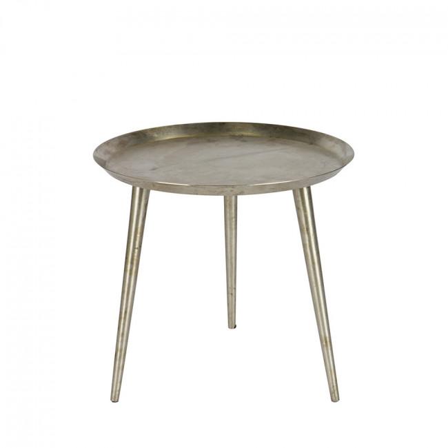 Table basse vintage métal vieilli L Delight