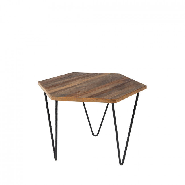 Table basse en teck recyclé Cor