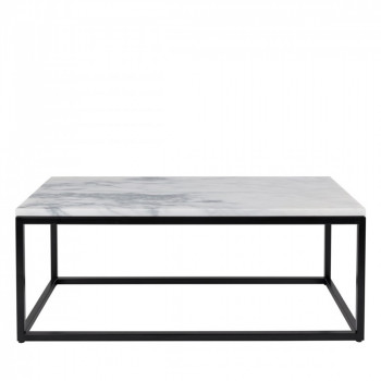Table basse rectangulaire Marble Power
