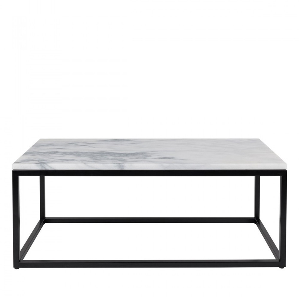 Table basse rectangulaire marble power zuiver - Table marbre rectangulaire ...