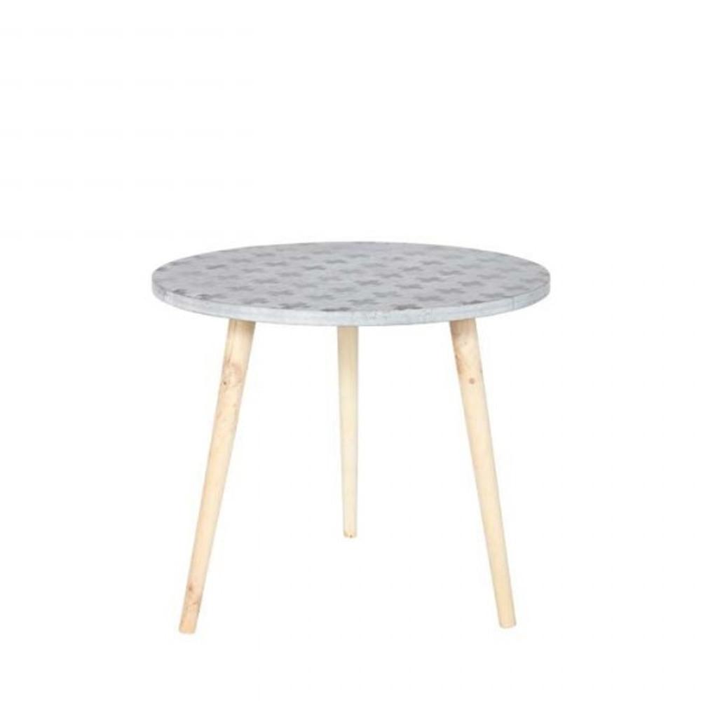 Table basse imprim gris denn par - Table basse prisme ...
