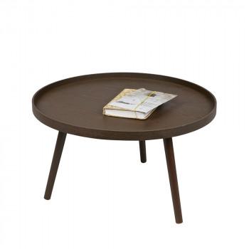 Table d'appoint ronde bois L Mesa
