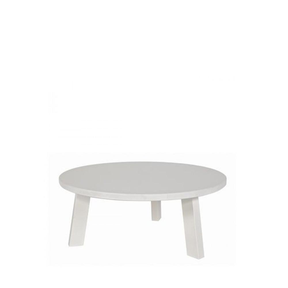 table basse en ch ne 50cm ronde teofilus par. Black Bedroom Furniture Sets. Home Design Ideas