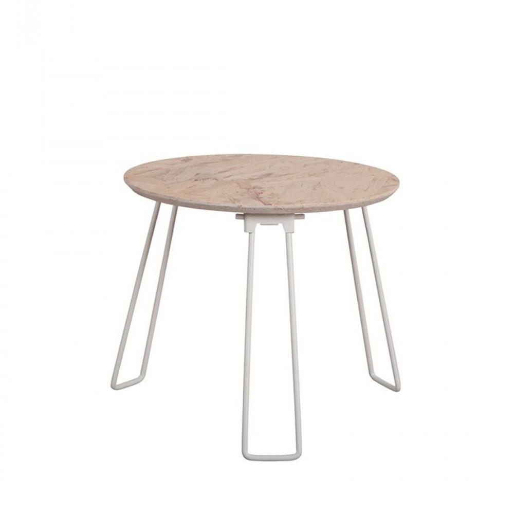 table basse en bois osb small zuiver. Black Bedroom Furniture Sets. Home Design Ideas