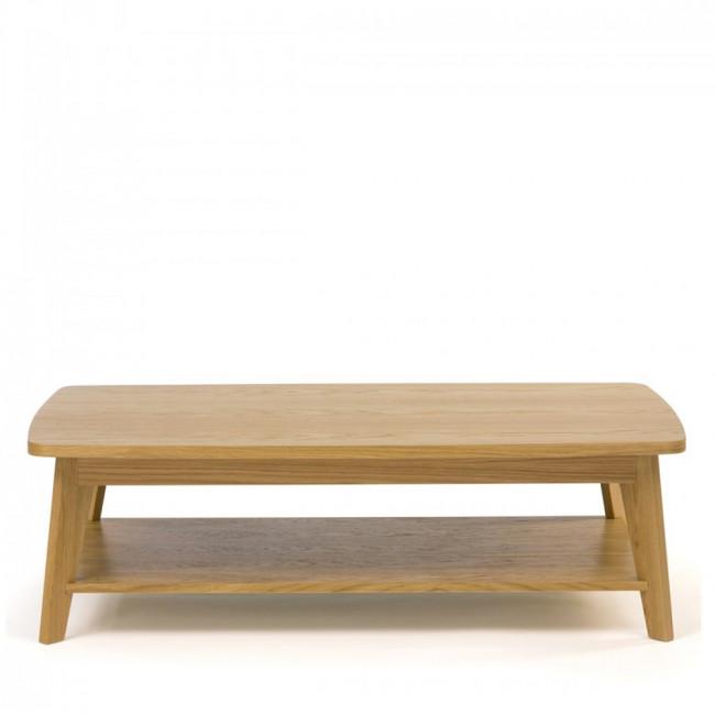 Table basse en bois 2 plateaux Kensal
