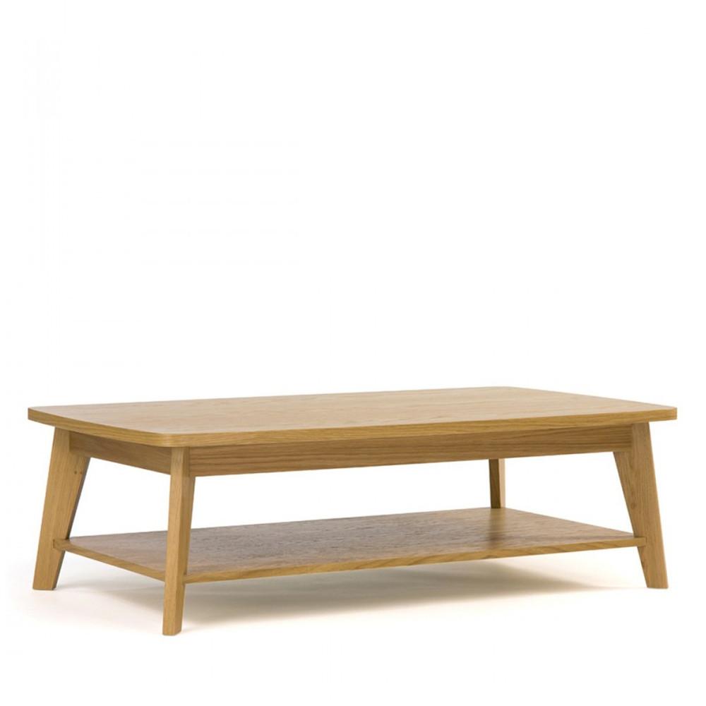 meilleur pas cher 7098b 13e81 Table basse 2 plateaux bois Woodman - KENSAL