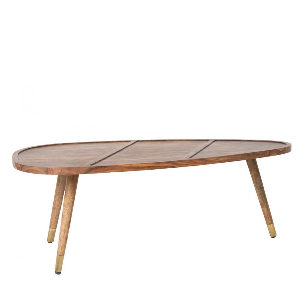 set de 2 tables basses en palissandre sham par. Black Bedroom Furniture Sets. Home Design Ideas