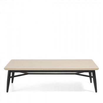 Table basse rectangle bois chêne 120x70 Ray