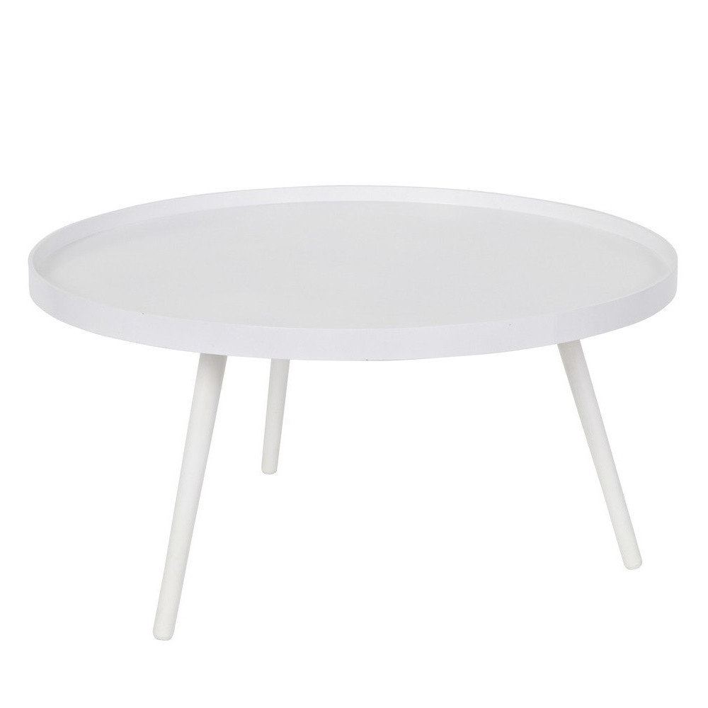 Table d 39 appoint ronde bois xl mesa by drawer - Table ronde d appoint ...