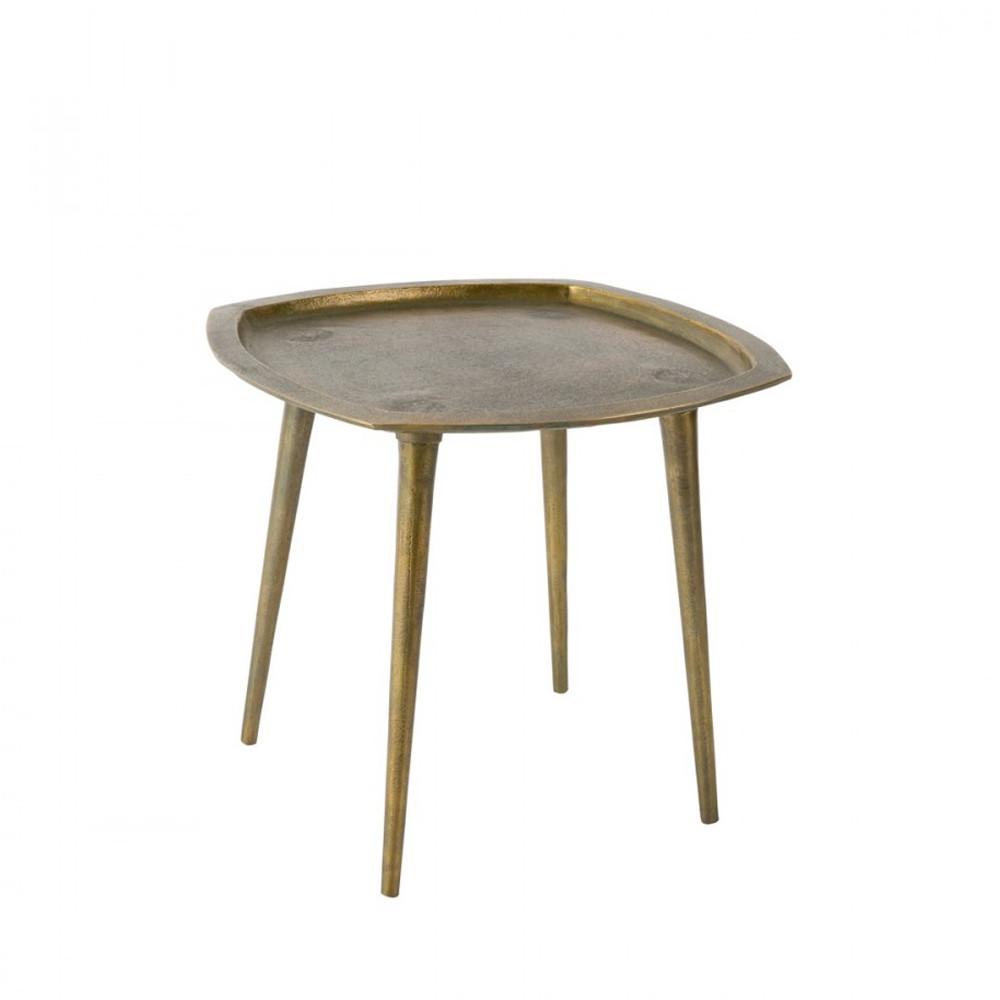 table vintage laiton abbas par. Black Bedroom Furniture Sets. Home Design Ideas