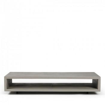 Table basse rectangulaire béton XL Monobloc