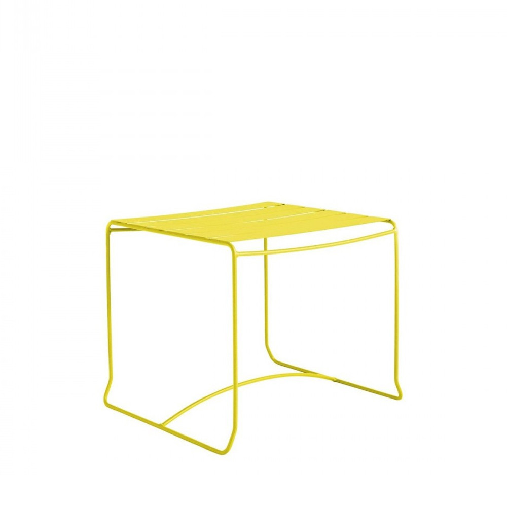 Table basse de jardin m tal 50x50 pasadena par - Table de jardin metal ...