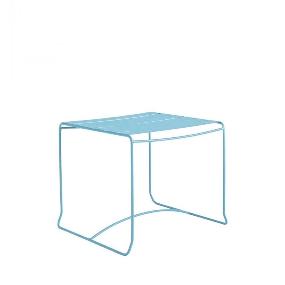 table basse de jardin m tal 50x50 pasadena par. Black Bedroom Furniture Sets. Home Design Ideas