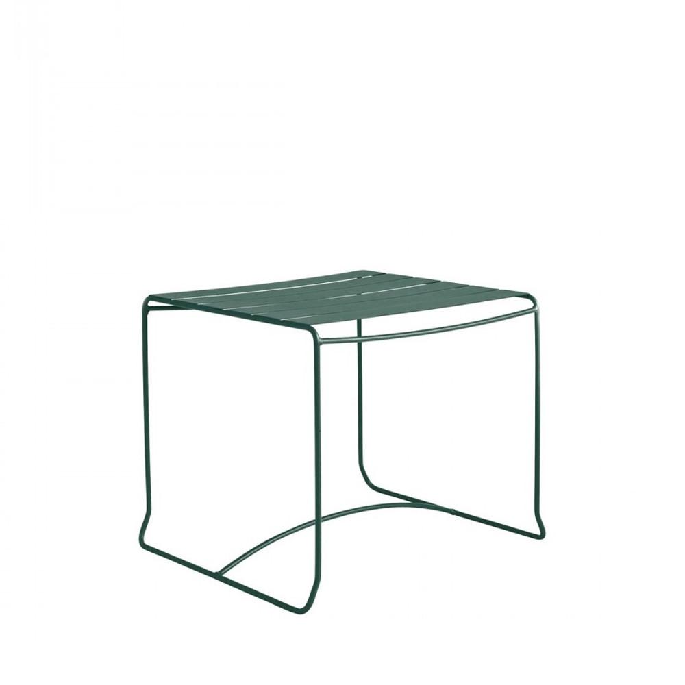 Table basse de jardin m tal 50x50 pasadena par - Table de jardin carree aluminium ...