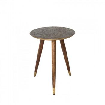 Table d'appoint vintage tripode Bast