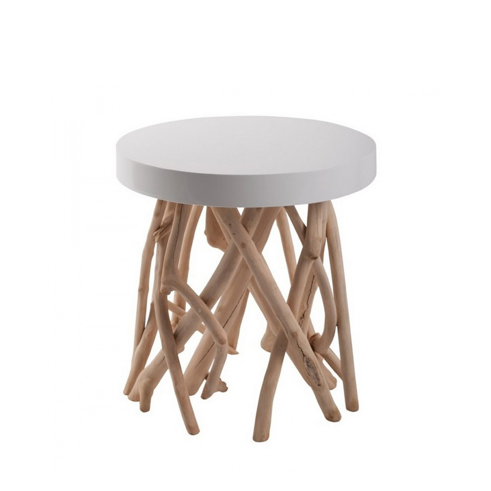 Table en bois flott style scandinave zuiver for Table de salon bois flotte