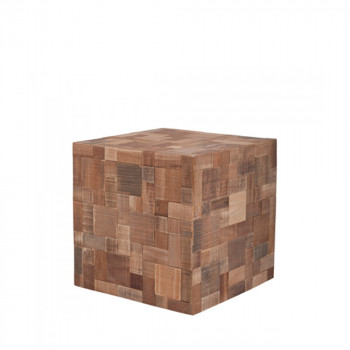 Table d'appoint en bois Mosaic