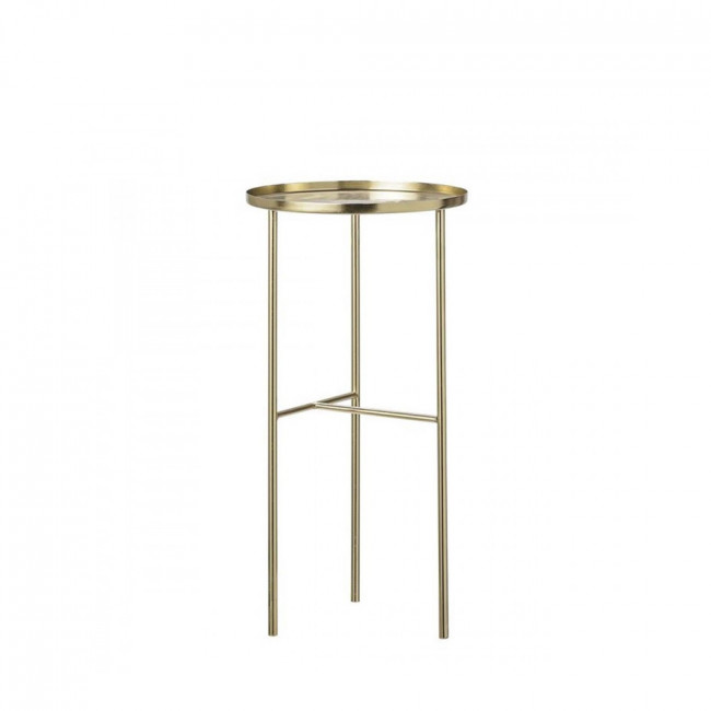 Table d'appoint haute finition laiton Ø30 Pretty