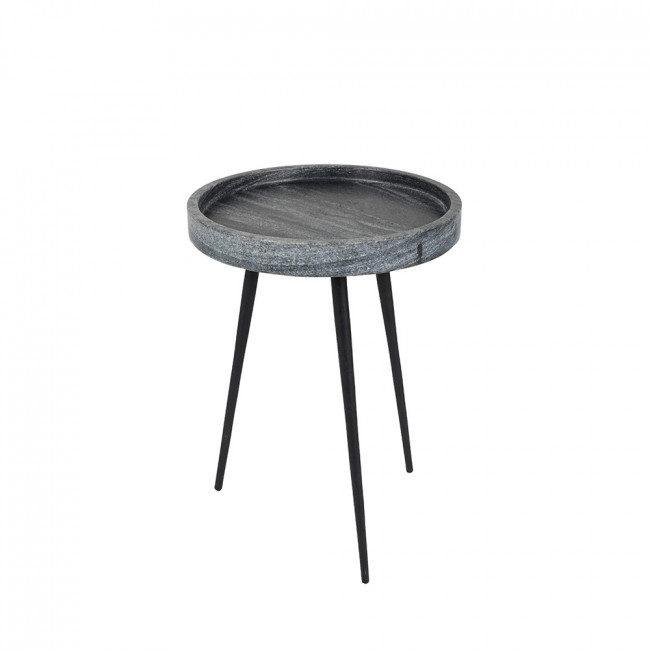 table d 39 appoint marbre blanc ou gris karrara de zuiver. Black Bedroom Furniture Sets. Home Design Ideas