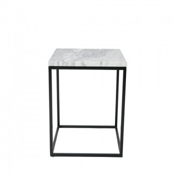 Table d'appoint carrée Marble Power