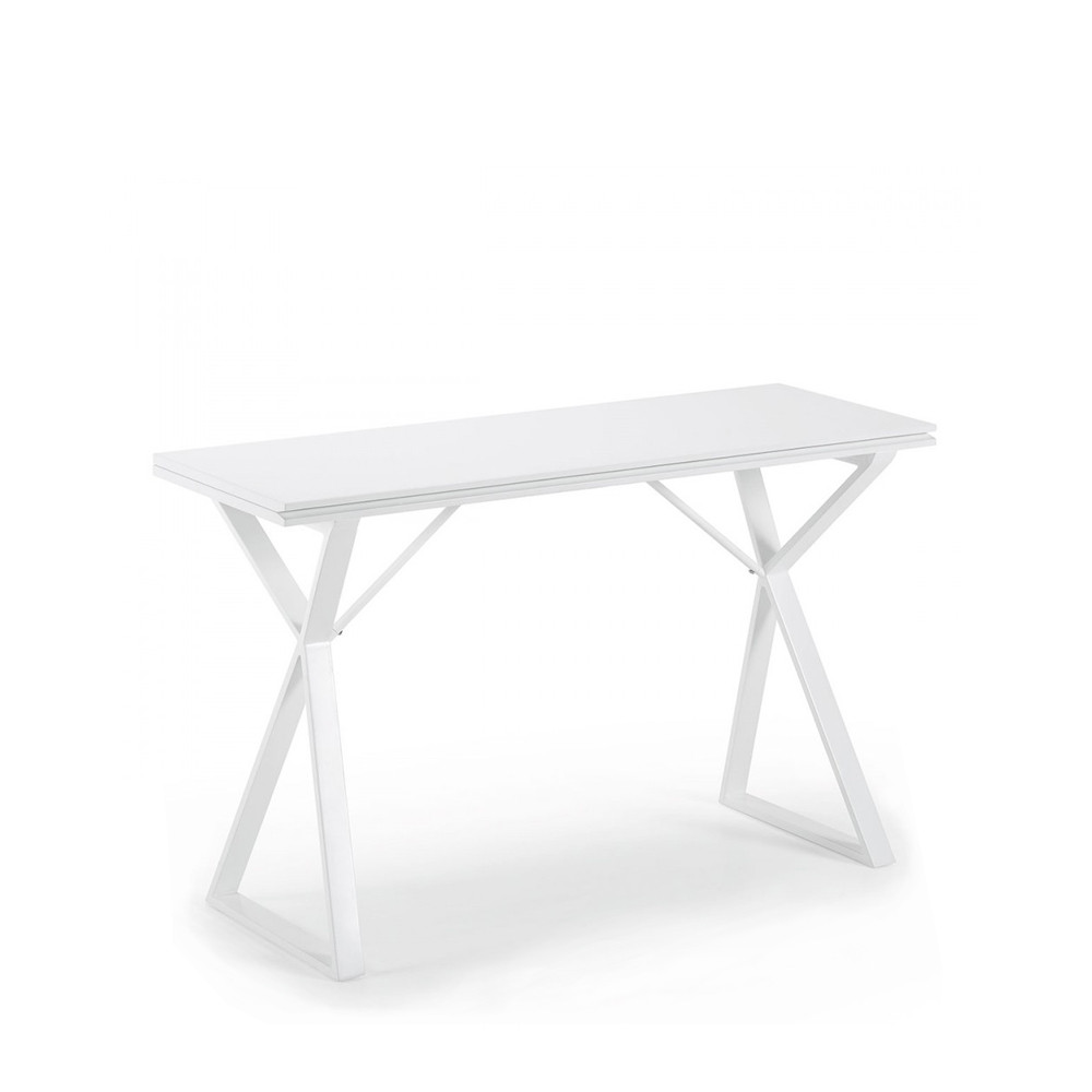 Table console extensible design by - Table console extensible blanche ...