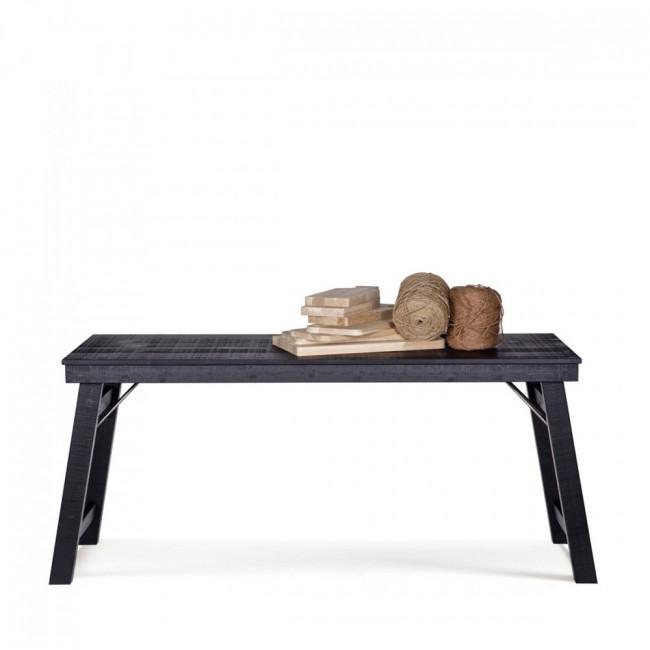 Bureau console en bois brut Stevenson