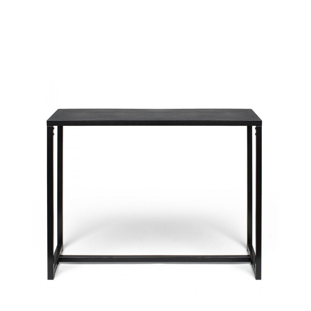 console design en m tal et b ton noir krawl by drawer. Black Bedroom Furniture Sets. Home Design Ideas