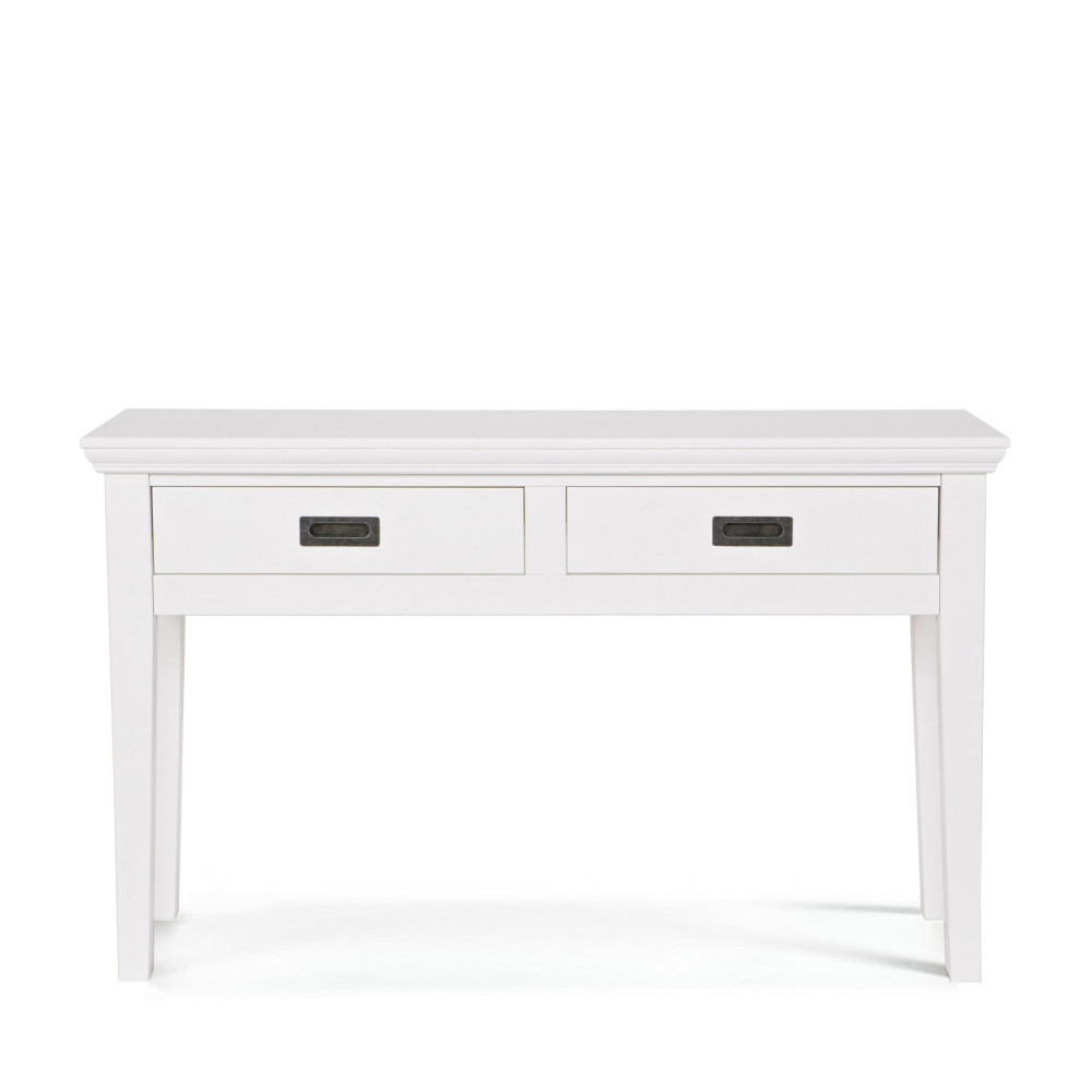 console pin massif blanc perpignan by drawer. Black Bedroom Furniture Sets. Home Design Ideas