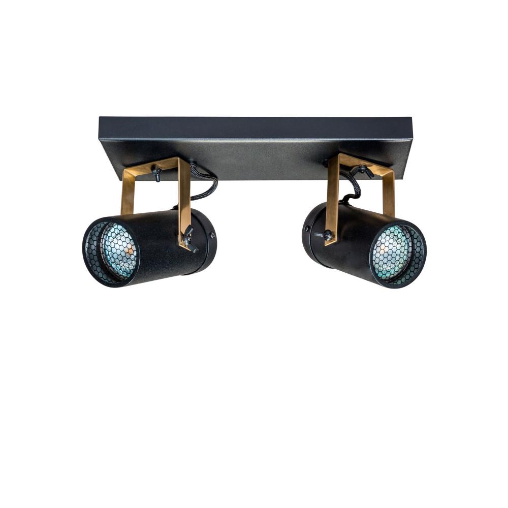 applique plafonnier industriel double scope dutchbone drawer. Black Bedroom Furniture Sets. Home Design Ideas