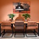 Table à manger 220x95cm Brussel