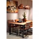 Table à manger bois 200x100cm Gent