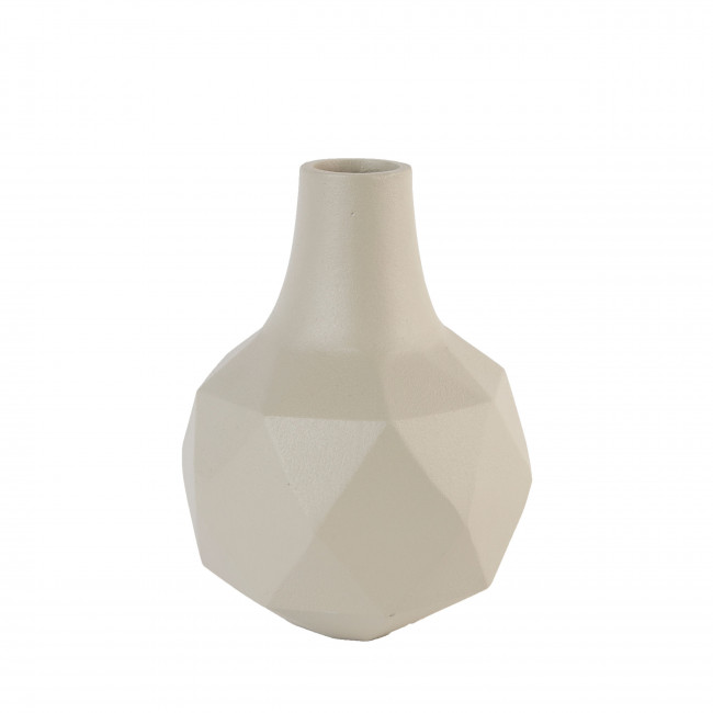 Vase design Bloom Zuiver Beige