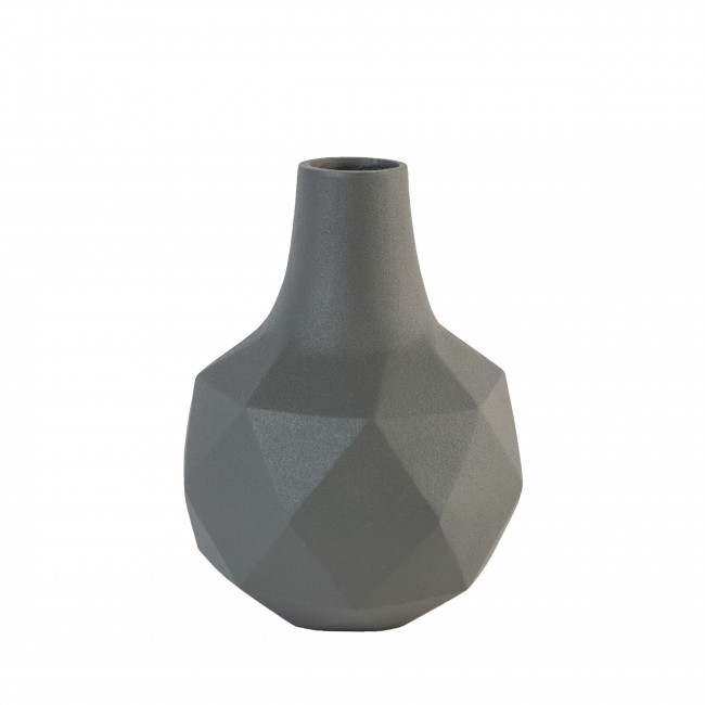 Vase design Bloom Zuiver Gris