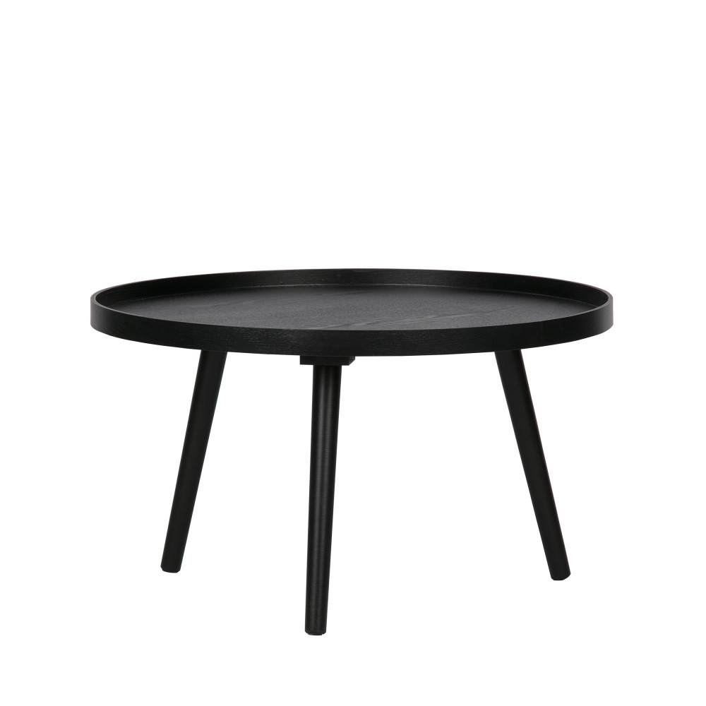 Table d 39 appoint ronde bois l mesa by drawer - Table d appoint ronde ...
