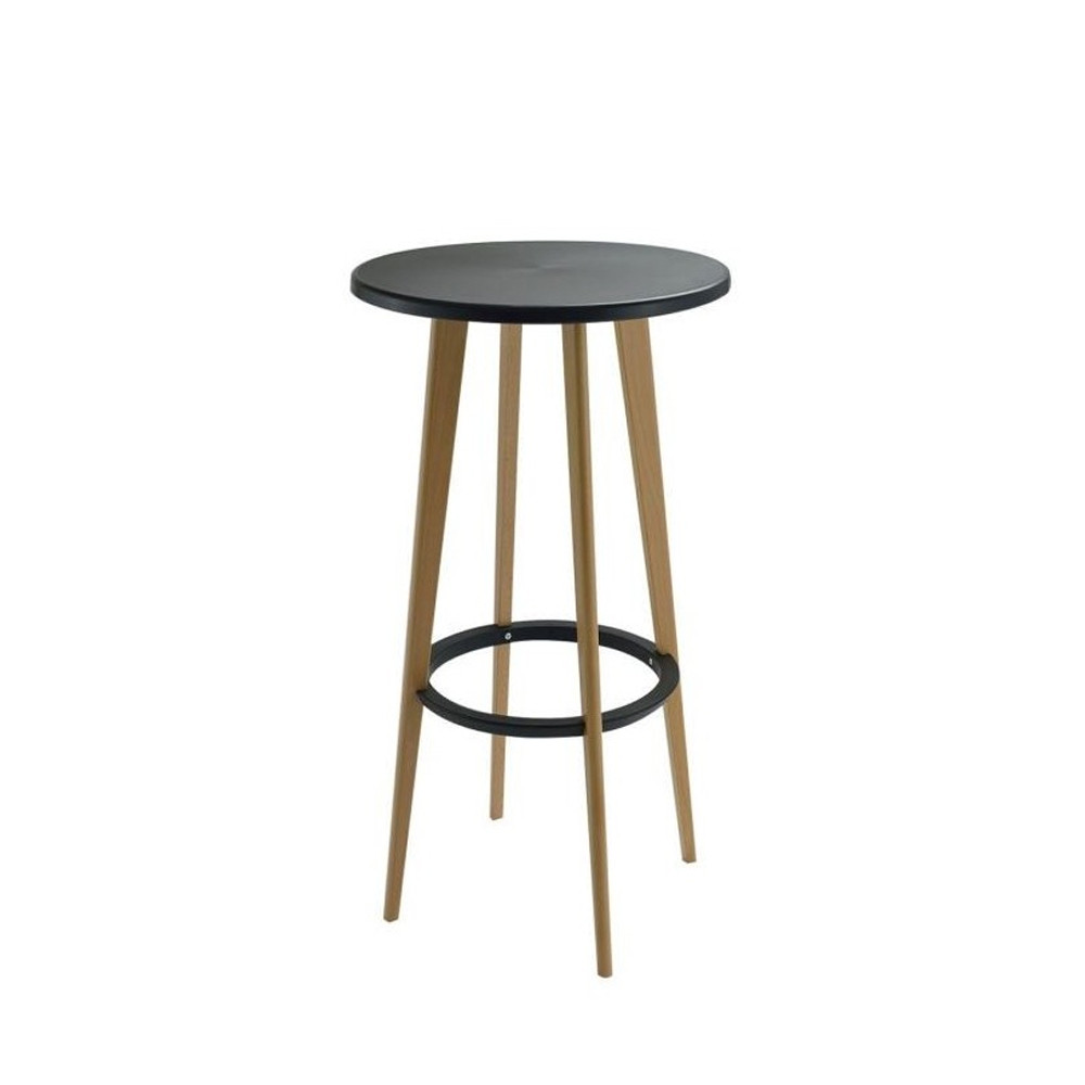 Table de bar ronde design blanche Harrys by Drawer