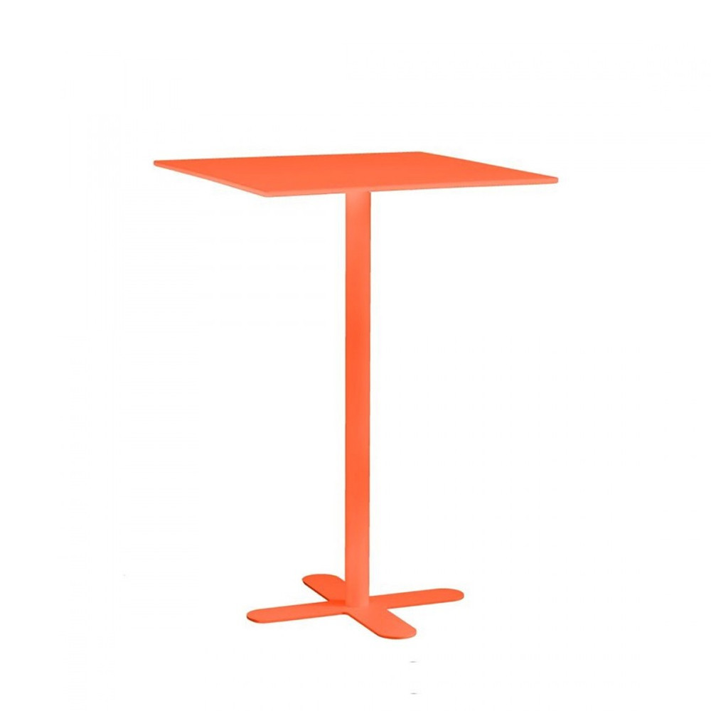 Beautiful Table De Jardin Metal Orange Photos Awesome Interior Home Satellite