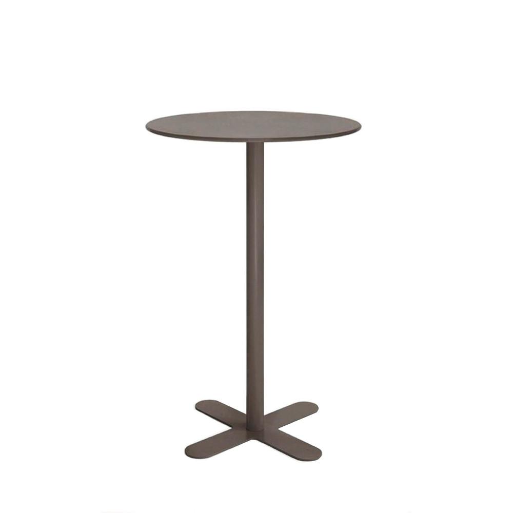 Table haute de jardin design san mateo d80 par for Table haute ronde