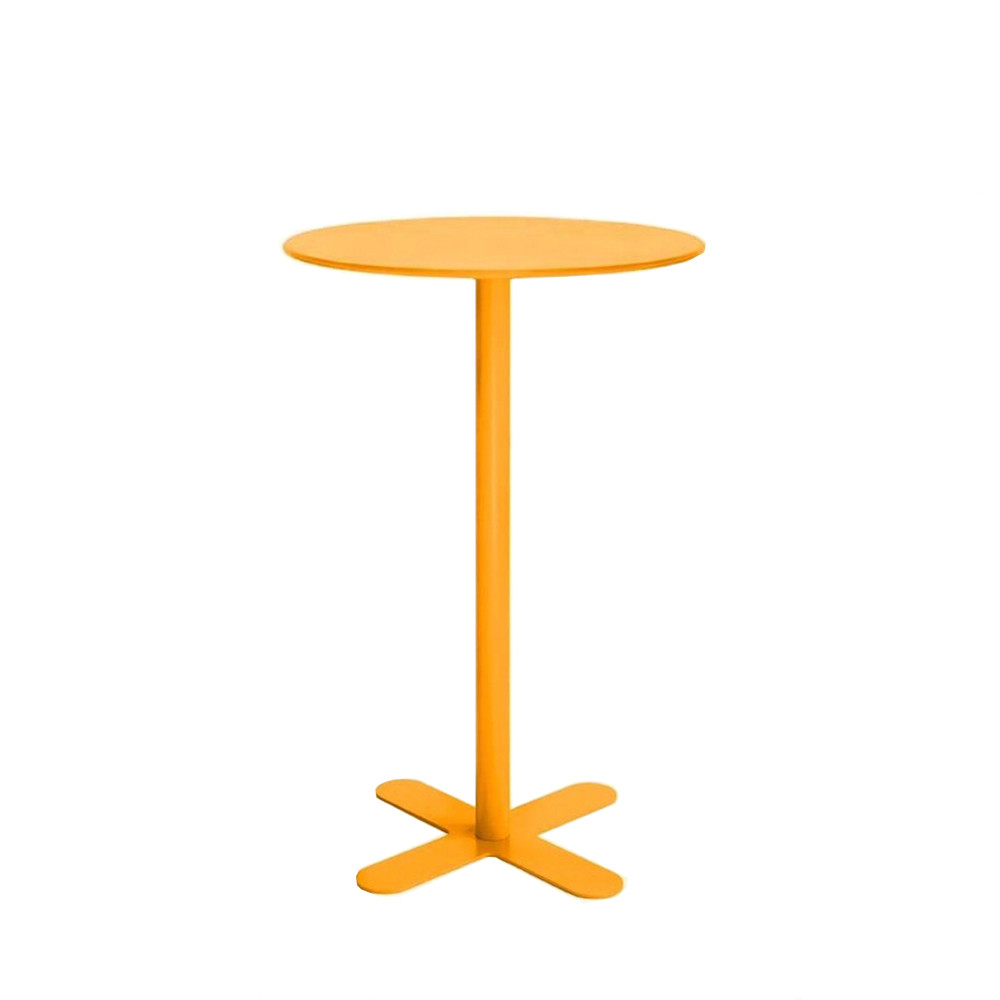 Table haute de jardin design san mateo d80 par - Table jardin metal ronde brest ...