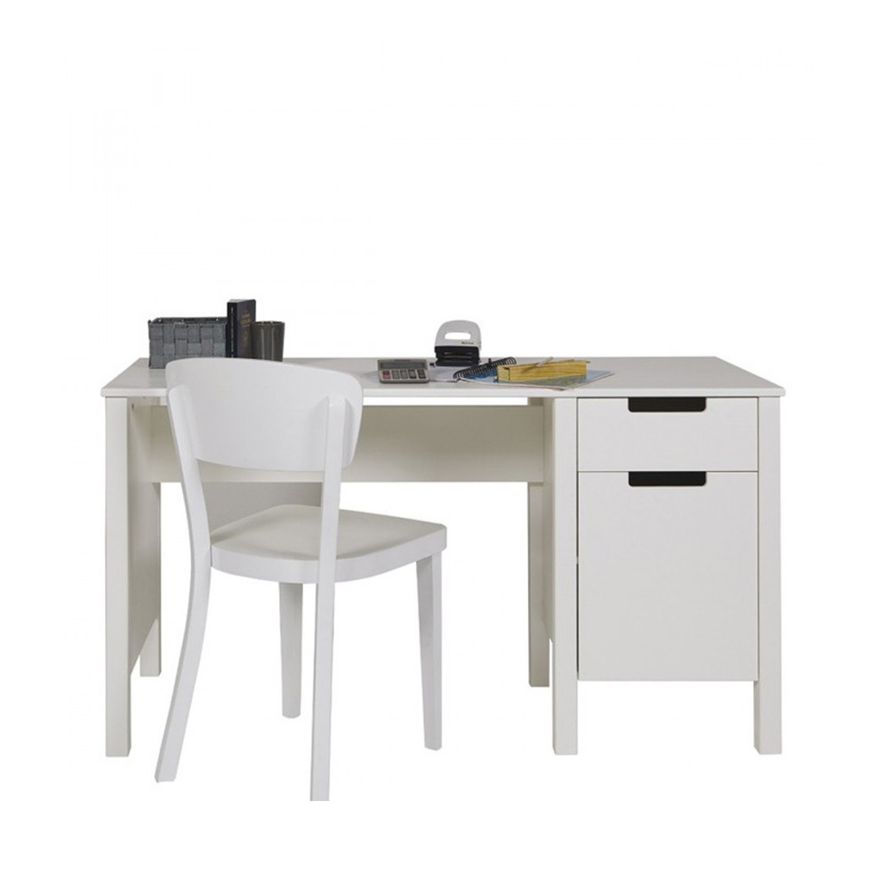 table de bureau en pin joop par drawer. Black Bedroom Furniture Sets. Home Design Ideas