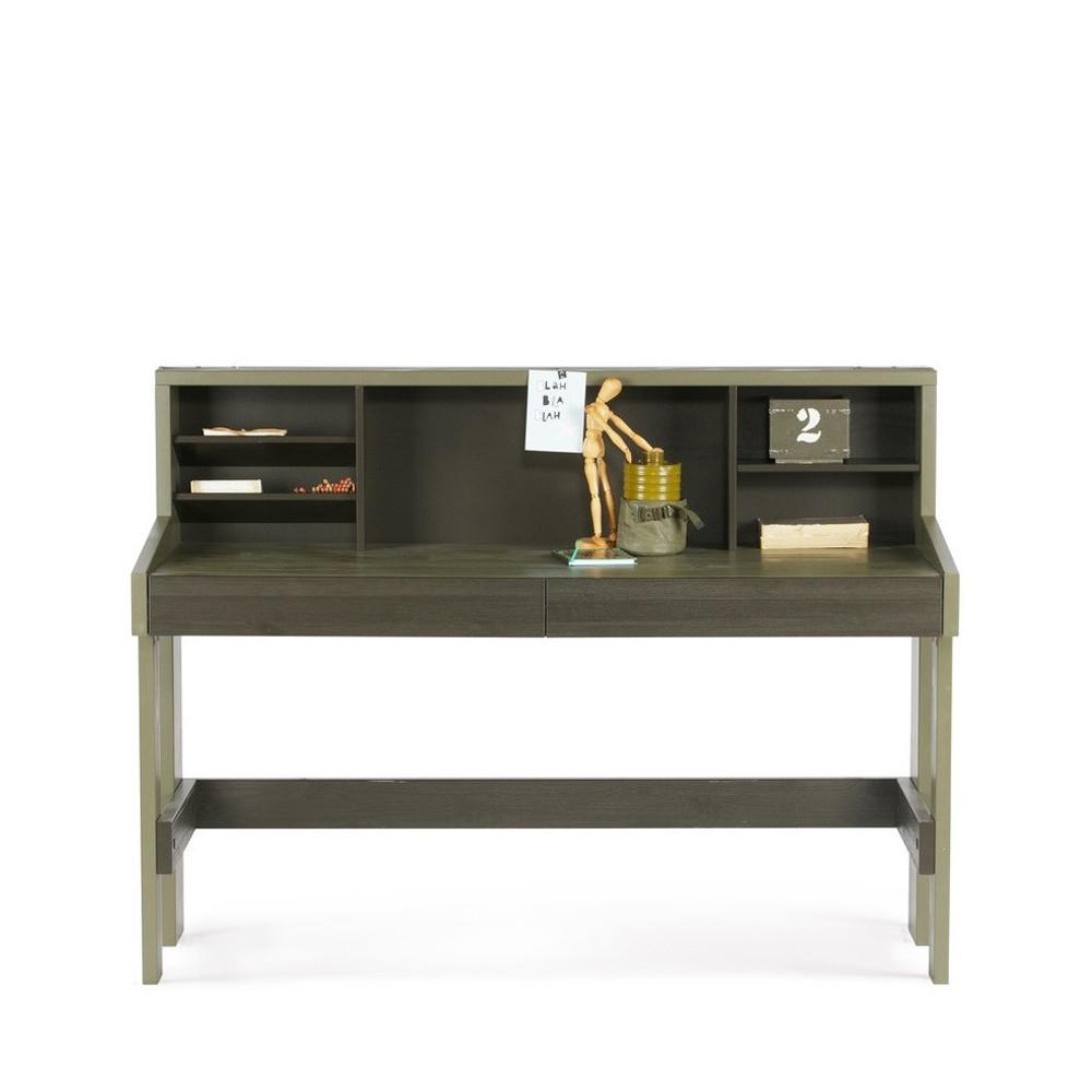 bureau pin bross derk by drawer. Black Bedroom Furniture Sets. Home Design Ideas
