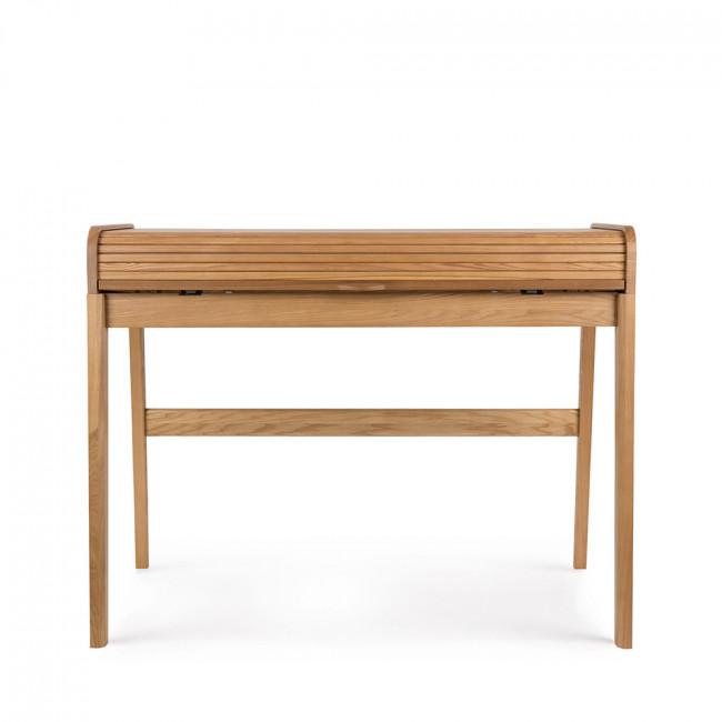 bureau en bois barbier par zuiver. Black Bedroom Furniture Sets. Home Design Ideas