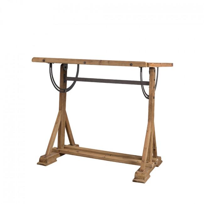 Bureau d'artiste en bois de sapin Stilo