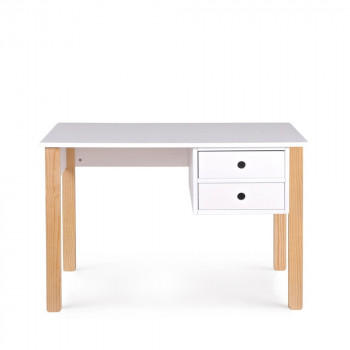 Table design pour le salon ou la salle manger drawer - Bureau enfant pin massif ...