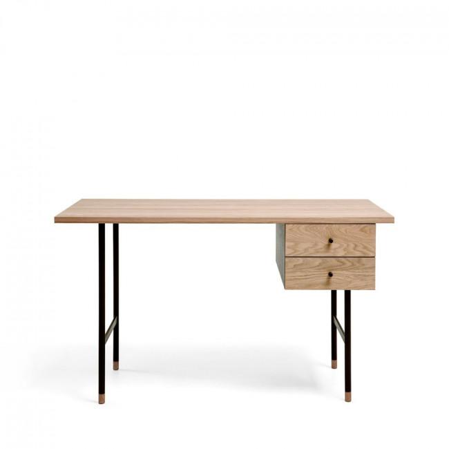 Bureau design bois et métal Jugend