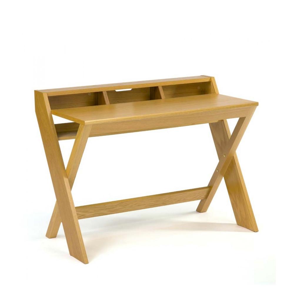 bureau design bois massif ravenscroft par. Black Bedroom Furniture Sets. Home Design Ideas