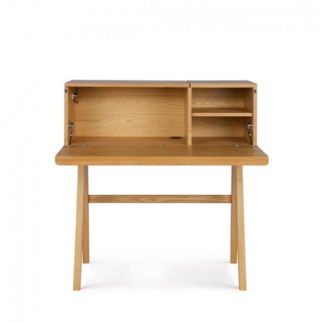 Bureau secretaire en bois Open Up